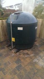 Harlequin oil tank