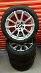 (H55) Pneus Hiver - Winter Tires 245-45-18 Dunlop RunFlat