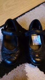 Girls brand new clarke shoes