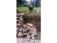Garden Rock/ Stone **Free to uplift**