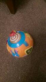 VTech learn and crawl ball in orange