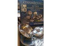 20 items kitchen set - pots pans