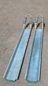 RAMP or SECURE TRAILER HOLDER for Motor Cycle, Pedal Cycles, Mowers