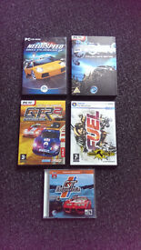 PC games boxed, as new