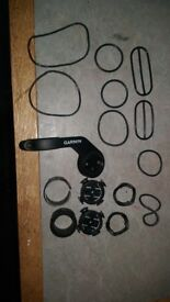 Garmin edge mounts (out front and stem)