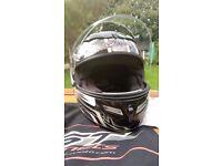 RST Fusion 2020 Motorcycle Hemet, Grey/Black/Silver Size xs