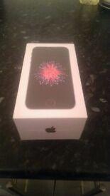 I phone se 32 gb space gray brabd new unwrapped