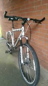 Classic hardtail mtb **reduced