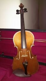 Lovely, German, full-sized violin.
