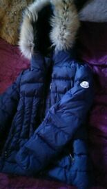 Authentic Girls Moncler Coat Age 10
