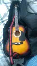 Guitar,Case and strap =]
