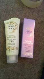 Face mask and hand cream