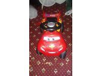 Lightning McQueen quad car