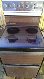 ceramic freestanding cooker can be seen working £15