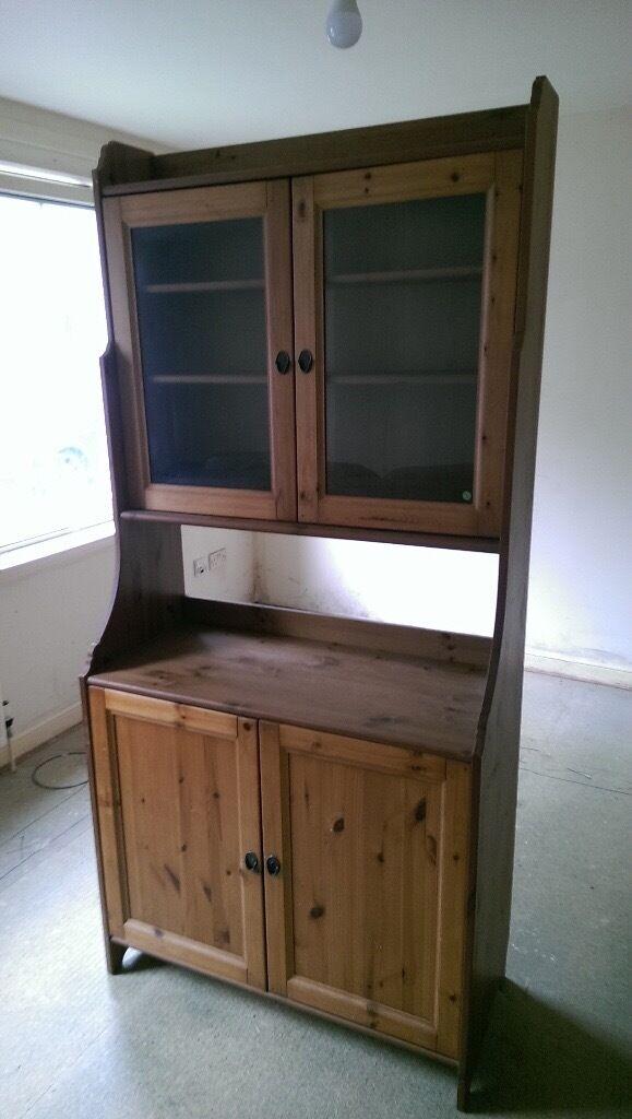 Solid Pine Ikea Kitchen Dresser