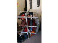 Lakeland heated clothes airer.