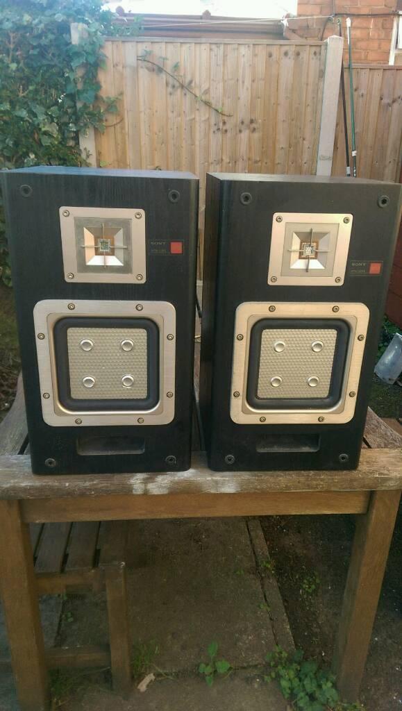 Sony APM 22es vintage speakers 75