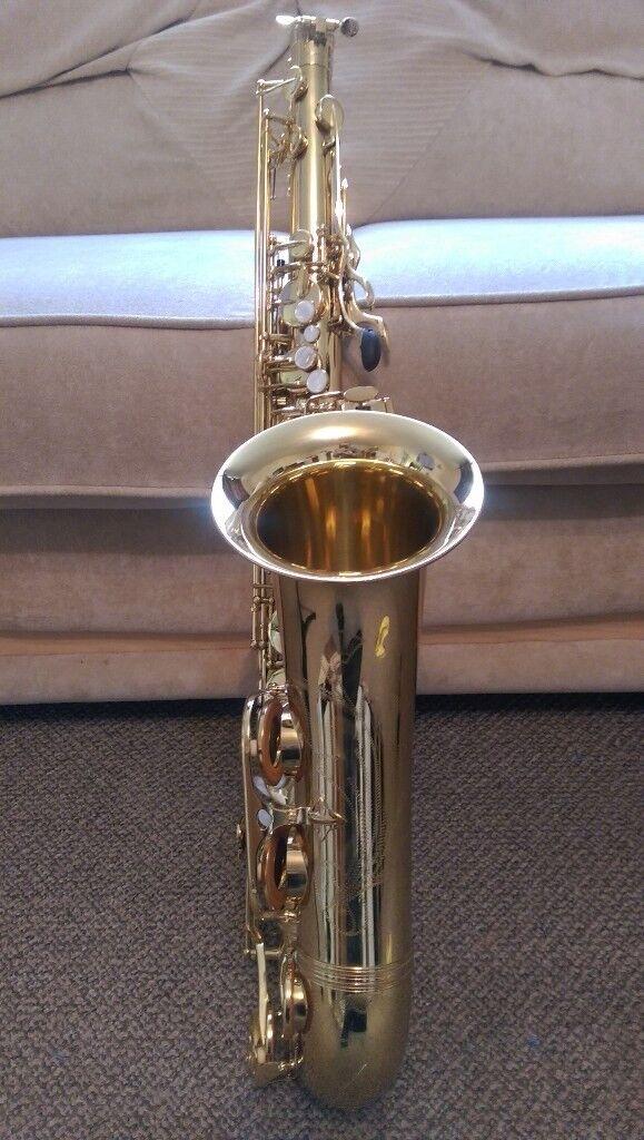 Trevor James SR Tenor Sax - Gold Lacquer - Very Good Condition
