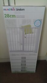 Munchkin 28cm White Universal Safety Gate Extension NEW!