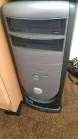 Dell Optiplex GX260 Computer Desktop Tower 2.26 Ghz 80 GB HDD TV card Ati Radeon DvD