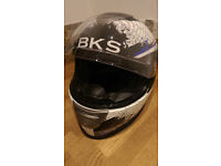 BKS Flow, Blue and White, Medium Helmet