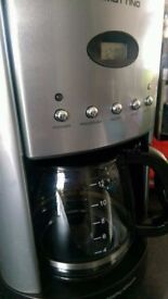 Morphy Richards 47070 12 Cups Coffee Maker - Silver