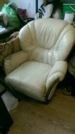 World of leather sofa suite