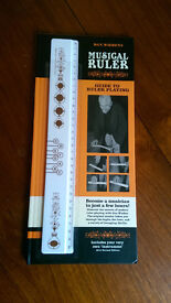 Look - Dan Wieden's MUSICAL RULER & Guide To Ruler Playing - great present - NEW