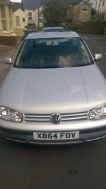 *NEEDS TO GO After 16/9/17* 2000 VOLKSWAGEN GOLF E 1.4 **£700ono** (PLUS EXTRAS)