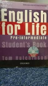 English For Life Pre-intermediate - Course Book