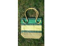 Green Handbag.