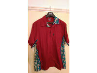 Paul Smith Retro Fish Shirt Large