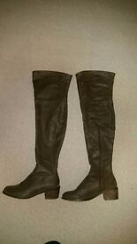 Aldo Over The Knee Boots