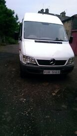 '55 Mercedes 311 Sprinter LWB Feb18MOT Low miles at 157K £1950ono SMART LOOKS 4 business. or EXPORT?
