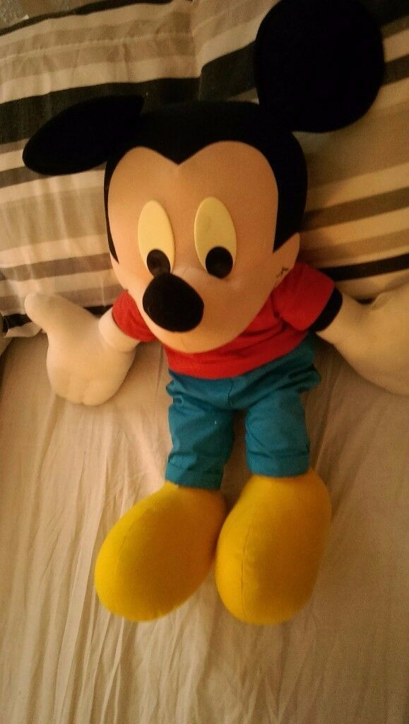 A Large Mickey Mouse