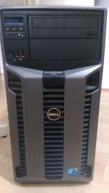 Dell PowerEdge T610 Tower Server 2x Xenon 5506 Quad core 2.1 GHz ,32GB RAM