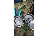 BMW E34 WHEEL CAPS X 4