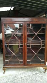Ornate Display Cabinet (George Hobbs Ltd, Newcastle)