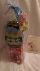 Childrens Easter Bundle. Easter Egg, Sweets, Chocolate & Kinder Chocolate Included.