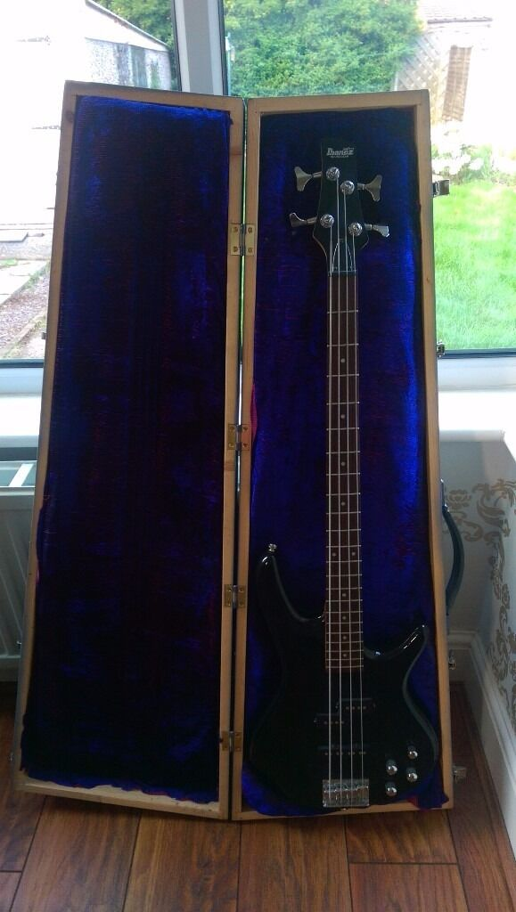 Ibanez GSR200 Bass Guitar with a solid wood casein Doncaster, South YorkshireGumtree - Ibanez GSR200 Bass Guitar excellent GSR200 Bass Guitar, with a solid wood case and nice padding. a few small scratches around the bottom, that could be polished out. excellent price as i need to sell £90