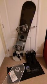 ALL BURTON 'CRUZER' 160 SNOWBOARD + BOOTS + BINDINGS - GREAT CONDITION, EVERYTHING YOU NEED!