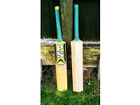2 Cricket Bats for Sale - £70 EACH - English Willow - Please see details