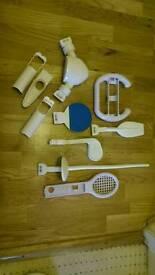 Nintendo Wii game attachments accessories