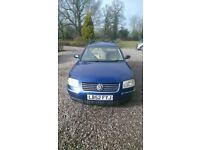Volkswagen Passat Estate TDi 2003 - Spares or Repair (gearbox problems, no MOT)
