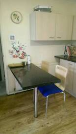 A double bed in a 4 bed house (All Inclusive)