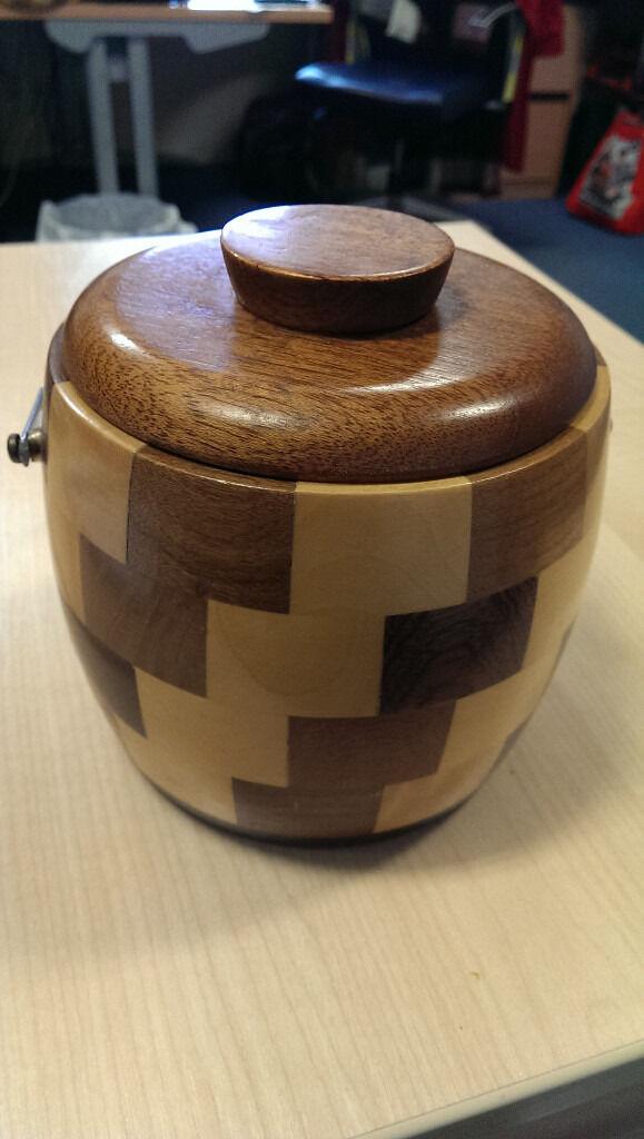 Vintage Cambridge Ware Biscuit Barrel