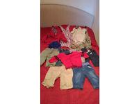 Baby boy clothes bundle 3-6 months - 20+ items Next, H&M, Disney, Mothercare