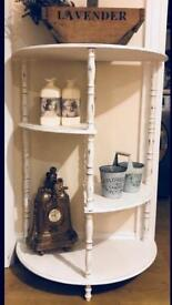 Upcycled wooden shelving shabby