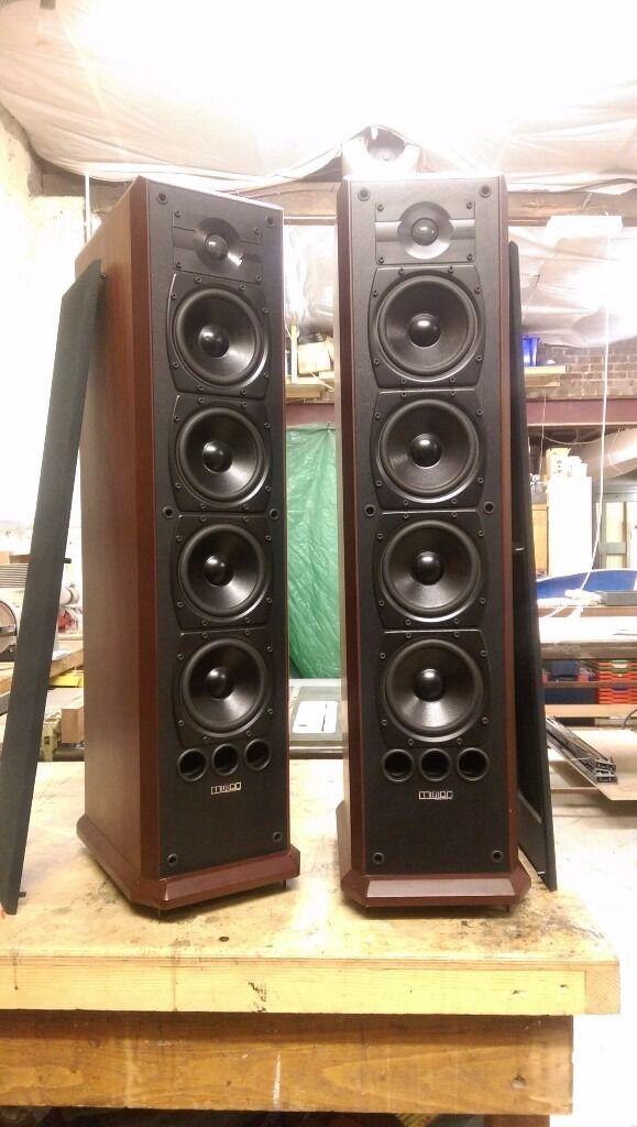 Mission 753 Floorstanding speakers in Rosewood