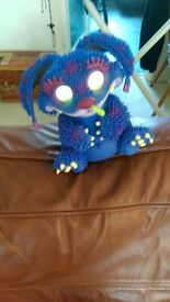 cute interactive monster toy